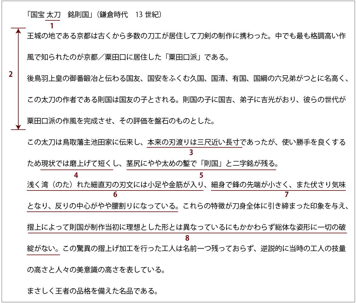 京都国立博物館キャプション